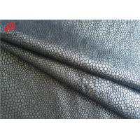 Quality Bronzing Micro Suede Polyester Knitted Fabric Sofa Fabric Upholstery Use for sale
