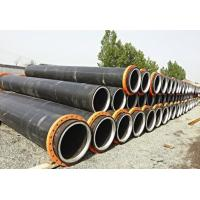 Buy cheap connected well no leakage hdpe pipe with steel ring inside from wholesalers