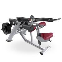 Quality Seated Tricep Dip Equipment / Tricep Press Exercise Machine For Gym for sale