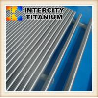 Quality Custom made China manfufacture ASTM B348 Gr2  titanium rod from baoji for sale