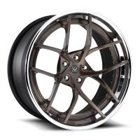 China 2-piece forged wheels Polish 19 Forged Rims For Ford Mustang / Yellow Alloy Rims 19 Alloy RIms on sale