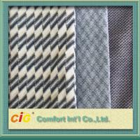 Quality Bus / Car Interior Decoration Striped Auto Upholstery Fabric / Contemporary Upholstery Fabric for sale