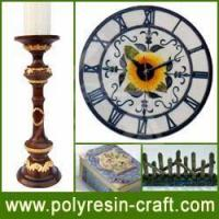 Quality Polyresin Craft-Polyresin Clock for sale