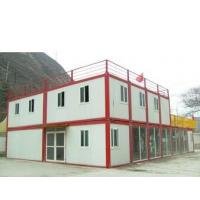 Quality Modern Flat Roof Prefab Houses Container Modified Prefabricated Sandwich Panel House for sale