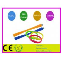 Quality Silicone Bracelet USB Flash Drive AT-051B for sale