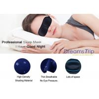 Quality Memory Foam Soft Material 3D Night Eye Mask For Sleeping With Ear Plugs for sale
