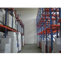 Quality 1500KG adjustable single access Drive In Pallet Racking with forklift working for sale