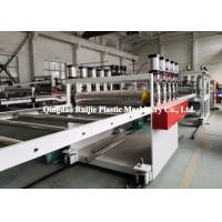China Stable PP Hollow Sheet Extrusion Line , Automatic Plastic Board Production Line on sale