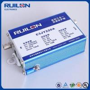 Quality Ruilon C3JY220A Series 10KA Surge Arrestor surge protector for CCTV camera for sale