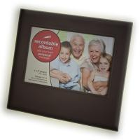 Quality 4 inch ABS + acrylic voice talking picture Recordable Photo Frame for family for sale