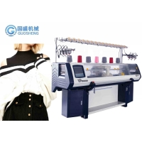 Quality Dual System Fully Jacquard Computerized Sweater Flat Knitting Machine for sale