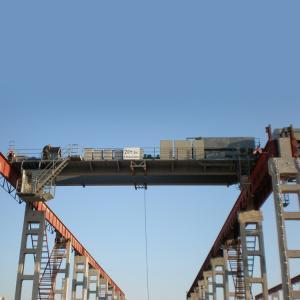 Quality 36 Ton Double Girder Bridge Crane Soft Starting Motors Light Current for sale