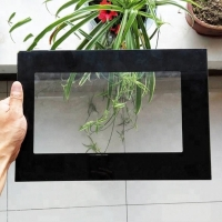 Quality Silk Screen Microwave Oven Glass Panel Door Toughened 3mm for sale