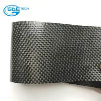 Quality raw material real carbon fiber belt pu leather for sale