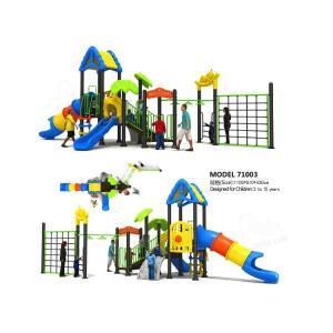 Quality Adventure Play Kids Playground Equipment , Commercial Playground Equipment Strong Safety for sale