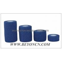 Quality Green Hypoallergenic EAB Cotton Elastic Adhesive Tear By Hand For Sports Use for sale