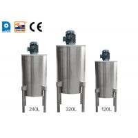 Buy cheap 4 Legged Double Walled Ice Cream Cone Production Line High Speed Batter Mixer from wholesalers