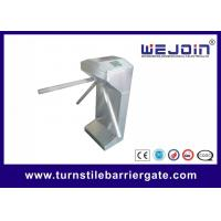 Buy cheap Pedestrian Waist High Automatic Barrier Gate , Economical Turnstile Security Gates from wholesalers