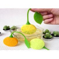 Quality Heat Insulation Silicone Kitchen Tools Food Grade Silicone Tea Bag Of Lemon Shaped for sale