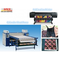 Quality 2.5m  Roller Style Textile Calender Machine Sublimation Printing Calander Heat Press for sale