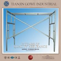 Metal scaffolding h frame / ladder scaffolding system With Universal wheel