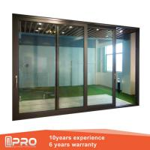 Aluminum Sliding Glass Patio Doors , Modern Design Custom Sliding Glass Doors