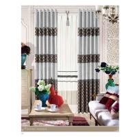 Quality Wholesale Home Decorative Jacquard Fabric Modern Curtains European Style for Hotel for sale