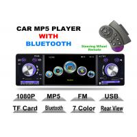 Quality Front USB 2.0 Port 4 Inch Touch Screen Cd Player For Car With Bluetooth Detachable Panel for sale