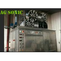 Quality 4500W Industrial Sonic Cleaning Tank / Tyre Washing Machine With Pneumatic Lift for sale