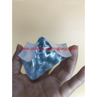 Quality Custom White Three - Side Seal Aluminium Foil Bag With 2 Colors Gravure Printing for sale