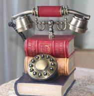 China book shaped telephone,antique telephone,europe telephone,ancient telephone,craft gifts,household gifts,fashion gifts on sale
