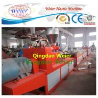 Quality Wood Plastic Composite / Wpc Profile Extrusion Line Single Screw Extruder for sale