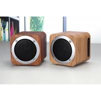 Buy cheap Wooden Bluetooth Speaker Wireless Computer Speaker with Enhanced Bass Resonator from wholesalers