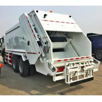 Quality 20m3 FAW Compressed garbage truck, China Compactor garbage truck for sale