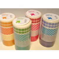 Quality Custom Printed Washi Masking Tape With Cute Patterns And Designs for sale