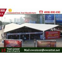 800 people luxury huge clear span structure A frame tent for wedding