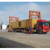 Buy cheap Different Lift Height Gantry Container Crane , Port Gantry Crane 40 Ton Loading from wholesalers