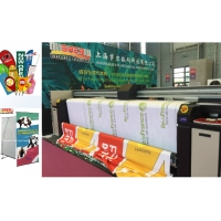 Quality CMYK Automatic Digital Flag Printing Machine Plotter With Epson 4720 PrintHead for sale