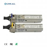 Quality 1.25G 1310NM/1490NM(1490NM/1310NM) Wavelength BIDI 60KM Transceiver With SC Connector for sale