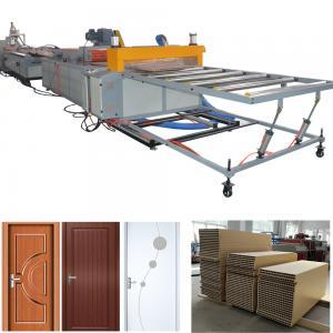 Quality PVC WPC door production line WPC wood plastic composite door machine for sale