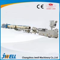 China Jwell PE large diameter Pipe Extrusion Line on sale