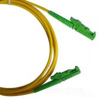 Quality LSZH 3.0mm cable diameter Single-mode low insertion loss E2000 Fiber Optic Patch Cord for sale