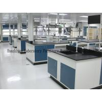 Quality General Size L3000*1500*850mm Steel Lab Bench Single / Double Drip Rack Type for sale