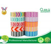 Quality Scrapbooking Writing Custom Printed Washi Tape Waterproof Environment Friendly for sale