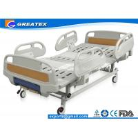 Quality GT-BM5207 Two Crank Medical Manual Hospital Bed Foldable ABS Handrails 2 Functions for sale