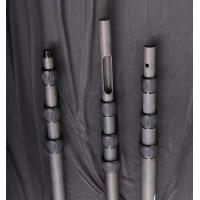 Quality Flexible 3k Rolling Tapered High Modulus Carbon Fiber Pole for sale
