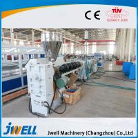 Quality large diameter HDPE water supply and gas supply pipe plastic machinery for sale
