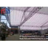 Quality Lighting Bolt Aluminum Stage Truss , Heavy Tudy Aluminum Roof Truss Long Life Span for sale
