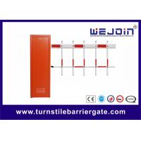 Buy cheap 120W Access Control Vehicle Barrier Gates Compatible with Personal Computer from wholesalers