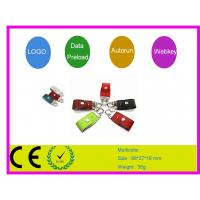 Quality  Personalized Innovative 32gb , 64gb , 16Gb  Leather USB Flash Drive 2.0 sticks  AT-030A for sale
